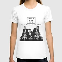 why dont we invitation tour 2021 T-shirt