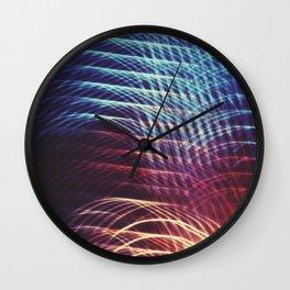 Camera Toss Light Abstract Wall Clock