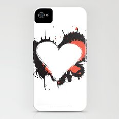 I Heart Live Art iPhone (4, 4s) Slim Case