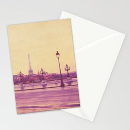 Paris, Glad to See You Again. Stationery Cards