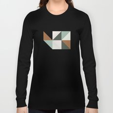Geometric Washington Long Sleeve T-shirt
