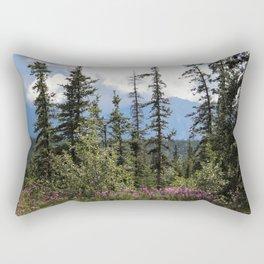 For Spacious Skies :: Purple Mountains Majesty Rectangular Pillow