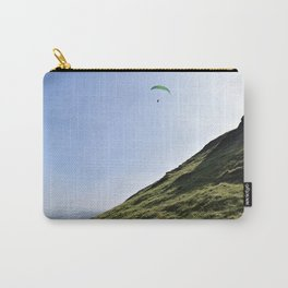 Paraglider in England's Peaks Carry-All Pouch