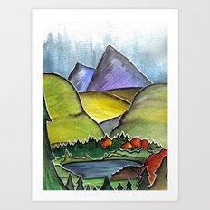 Forest Print. Art Print