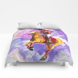 power of polo Comforters