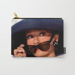 Audrey Hepburn #1 @ Breakfast at Tiffany's Carry-All Pouch