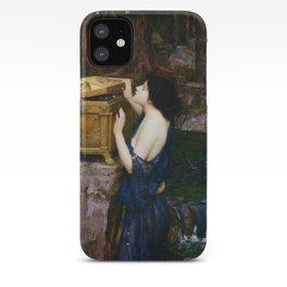PANDORAS BOX - JOHN WILLIAM WATERHOUSE  iPhone Case