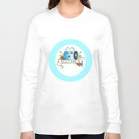 mother Long Sleeve T-shirts featuring Mother  by Christopher Chouinard