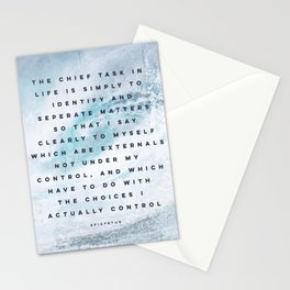 You're in Control Stationery Cards