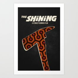 Stanley Kubrick's The Shining Art Print