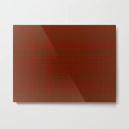 Dunbar Tartan Metal Print