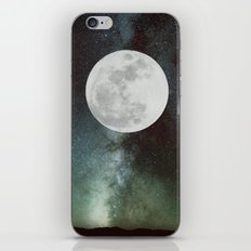 Moon phases iPhone & iPod Skin