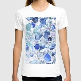 Blue leaves T-shirt