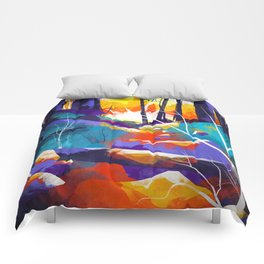 The Waning Light :: Landscape Comforters