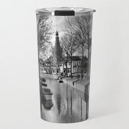 Canal in Medemblik Travel Mug