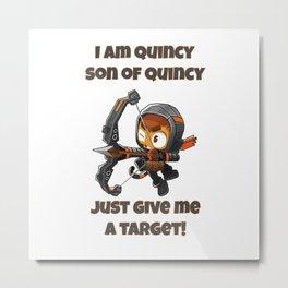 Quincy Metal Print