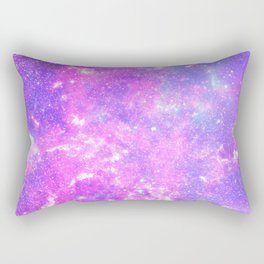 Pink Galaxy Rectangular Pillow