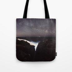 Split Infinity Tote Bag