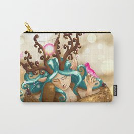 Commissions | Forest Nymph Carry-All Pouch
