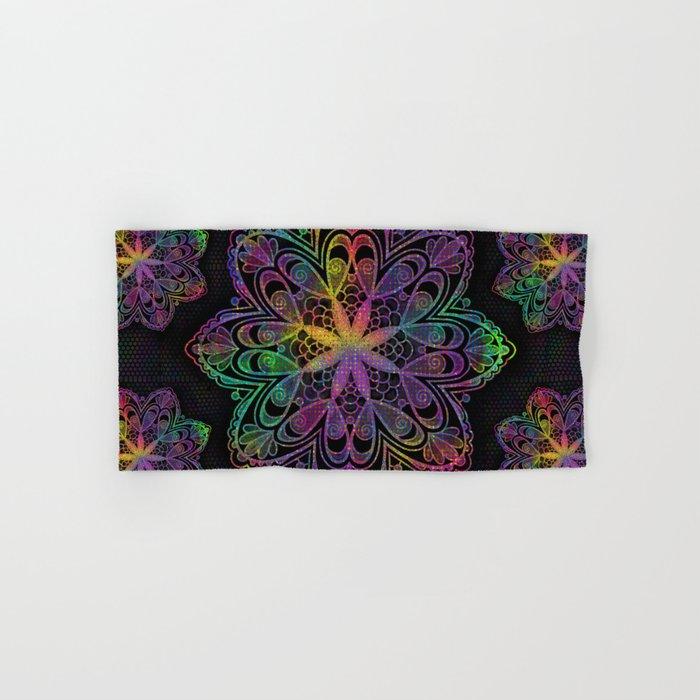 Kaleidoscope Mandala Hand & Bath Towel