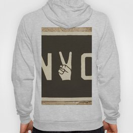 NYC Peace Sign (Color) Hoody