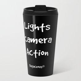 Lights Camera Action!  Travel Mug