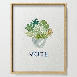 vote - botanicals Serving Tray