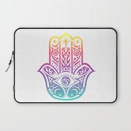 Colorful Hamsa Laptop Sleeve
