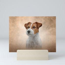 Jack Russell Terrier. Drawing Mini Art Print