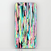 the strokes iPhone & iPod Skins featuring Abstract Strokes by Jenna Davis Designs