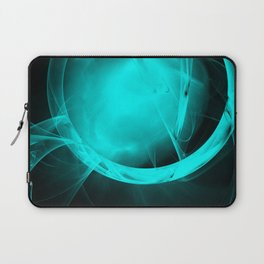 Through the glowing glass portal Laptop Sleeve
