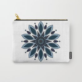 Blue knapweed flower Carry-All Pouch