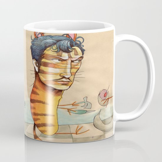 EASY, TIGER Coffee Mug