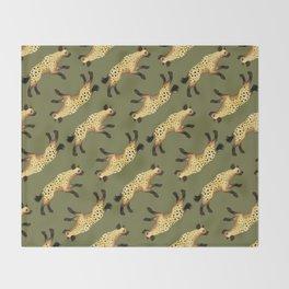 Hyenas Throw Blanket