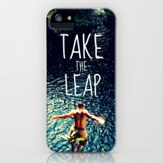 TAKE THE LEAP  iPhone (5, 5s) Slim Case