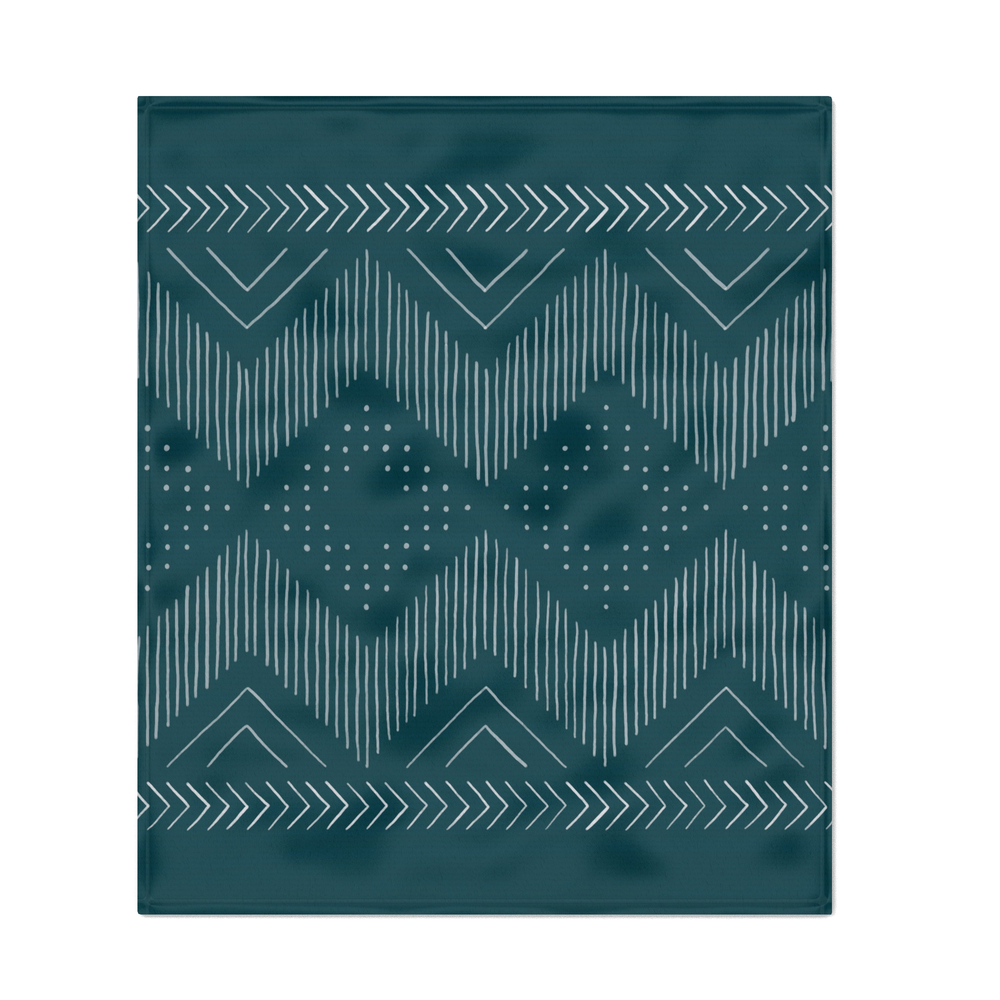 Teal_Tribal_Throw_Blanket_by_goodnightgracie