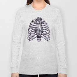 The owl is wise and proper Long Sleeve T-shirt