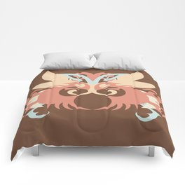 Abstraction Five Tlaloc Comforters