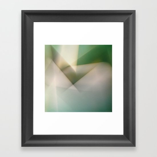 Space Geometry II/III Framed Art Print
