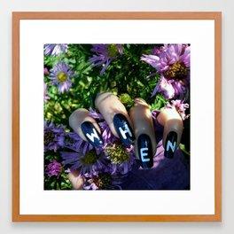 Never Framed Art Print