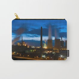 Industry landscape blue hour Carry-All Pouch
