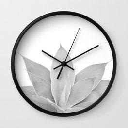 Gray Agave #1 #tropical #decor #art #society6 Wall Clock