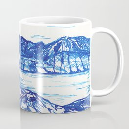 Blue landscape Coffee Mug