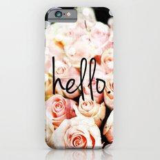 Hello Roses Slim Case iPhone 6s