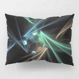 Fractal Convergence Pillow Sham