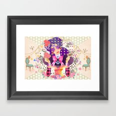 What divination do you use? Framed Art Print