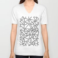 dots V-neck T-shirts featuring Dots by Project M