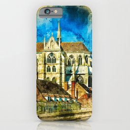 Auxerre France iPhone Case