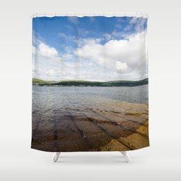 Great Cumbrae slipway Shower Curtain