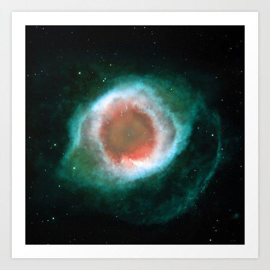 Eye Galaxy Art Print